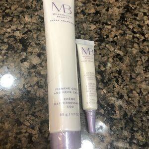 Meaningful Beauty firming neck cream&eye cream NWT